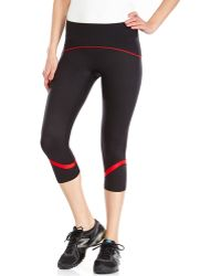 Spanx - Black Slim-X Cropped Athletic Pants - Lyst
