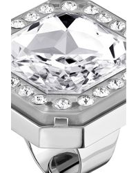 Azzaro | Silver Dauphiné Ring | Lyst