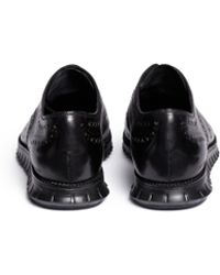 Cole Haan 'Zerogrand' Leather Oxfords black - Lyst