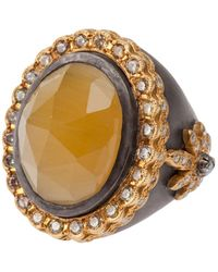 Sara Weinstock - Yellow Beryl Ring - Lyst