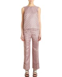 Elizabeth And James Carson Trousers - Lyst