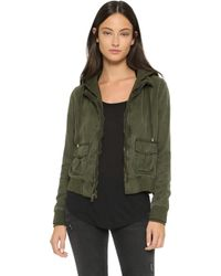 Young Fabulous & Broke Yfb Clothing Alena Jacket - Olive - Green