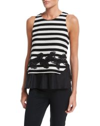 Thakoon | Layered Striped Tank | Lyst