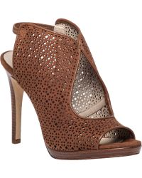 Tory Burch | Elinor Perforated Suede Sandals | Lyst