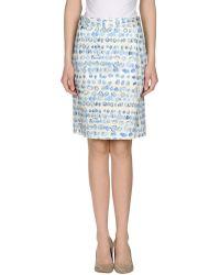 Clements Ribeiro - Knee Length Skirt - Lyst
