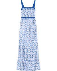 Collette by Collette Dinnigan - Cottonblend Lace Maxi Dress - Lyst