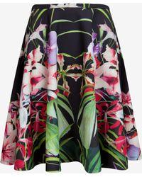 Ted Baker Mirrored Tropics Full Skirt - Lyst