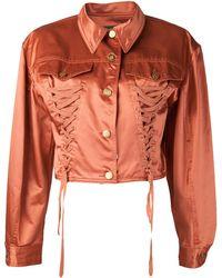 Jean Paul Gaultier Corset Jacket - Orange