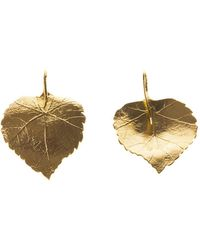 Aurelie Bidermann Central Park Earrings - Lyst