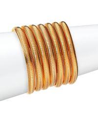 House Of Lavande Harbour Multi-Row Bracelet gold - Lyst