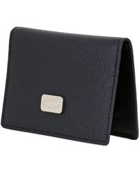 Tod's Bridge Dauphine Leather Card Holder - Lyst