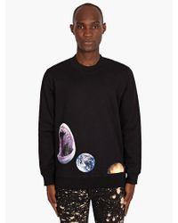 Raf Simons Sterling Ruby Mens Shark Print Sweatshirt - Lyst