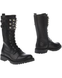 Dondup Ankle Boots - Lyst