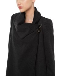 Akira Black Label - Wicked Ways Coat - Charcoal - Lyst