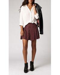 Azalea Ivy Shirred Back Top white - Lyst