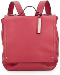 Kenneth Cole Reaction - Faux Leather Backpack - Lyst