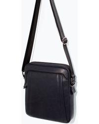 Zara Sporty Mini Messenger Bag - Lyst