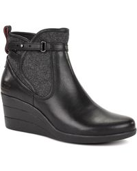 Ugg Emalie Water Resistant Full Grain Leather Tall Boot - Lyst