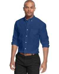 Tommy Hilfiger Wells Solid Classic-fit Shirt - Lyst