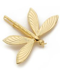 Dauphines of New York - Fly Away With Me Barrette - Gold - Lyst