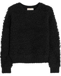 MICHAEL Michael Kors Textured-knit Sweater - Lyst
