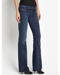 Diesel Louveboot Slim Bootcut Jeans - Lyst