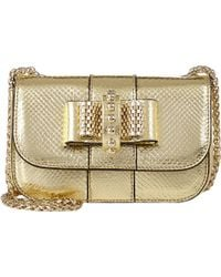 Christian Louboutin Karung-Stamped Sweety Charity Crossbody - Lyst
