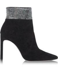 Stuart Weitzman Ankle Boots black - Lyst