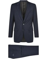Gieves & Hawkes Lightweight Single Breast Suit - Lyst