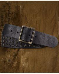 Denim & Supply Ralph Lauren - Leather Starstud Belt - Lyst