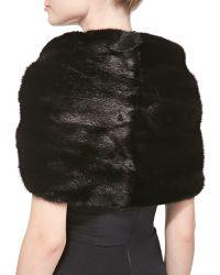 Monique Lhuillier - Mink Fur Ring Wrap - Lyst