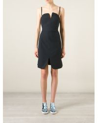 Opening Ceremony Spaghetti Strap Fitted Dress - Lyst