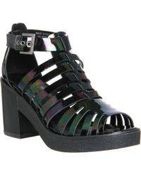 Office Wind Up Chunky Sandal - Lyst
