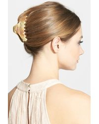 Belle by France Luxe - Large Fin Jaw Clip - Lyst
