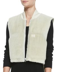 Rag & Bone Shearling Fur Work Vest - Lyst