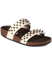 Circus By Sam Edelman Ace Footbed Flat Sandals - Lyst