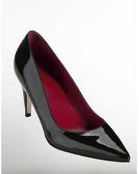Cole Haan Juliana Patent Leather Pumps - Lyst