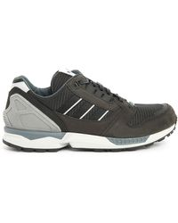 Adidas Zx 8000 Black Leather Pack Checkpoint Alpha Made In Germany Sneakers - Lyst