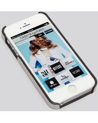 Tory Burch Iphone 55s Case  Robinson Saffiano - Lyst