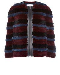 Sonia Rykiel Knitted Tricot Rex Jacket - Lyst