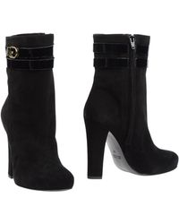 Frankie Morello Ankle Boots - Black