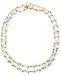 Lisa Freede - Perfect Pearly Necklace - Lyst