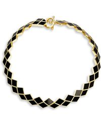Karen Kane - Stone Collar Necklace - Lyst