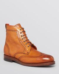 Allen Edmonds - Dalton Wingtip Lace-Up Boots - Lyst