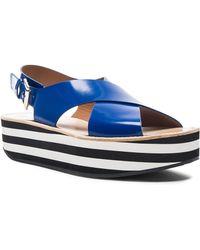 Flamingos - Malabar Leather Sandals - Lyst