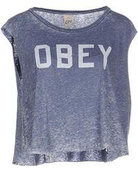 Obey   T-shirt   Lyst
