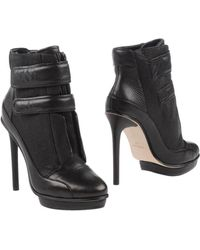 BCBGMAXAZRIA High-Heel Platform Ankle Boots - Black