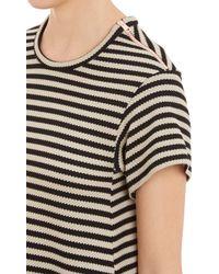David Szeto - Stripe Knit Tent Dress - Lyst