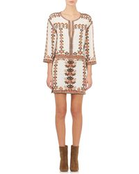 Isabel Marant Sandrine Shift Dress white - Lyst