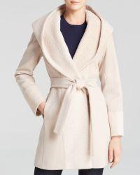 Trina Turk Wrap Coat - Jane Alpaca - Lyst
